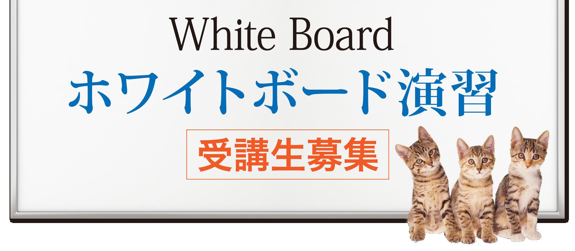ホワイトボード演習